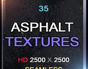 35 Asphalt Textures HD 3D