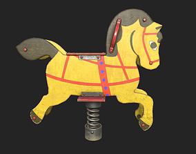 3D asset Playground Horse