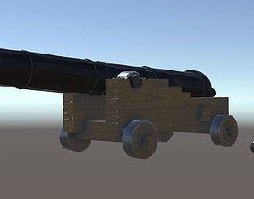 Cannon Naval 3D model