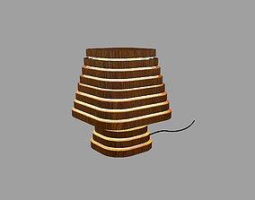 3D printable model Wooden Lamp