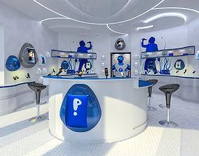 3D model Mobile Phone Shop Interior 02
