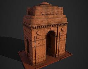India Gate 3D asset