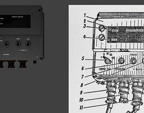 3D printable model radiacmeter dosimeter