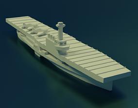 3D printable model USS Wolverine