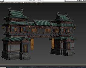 3D model Eastern ancient bunker