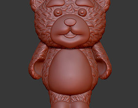model Lollipop bear 3D print model