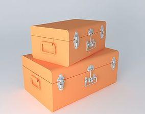 2MALLES whole orange houses the world 3D