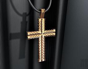 3D printable model cross the rope