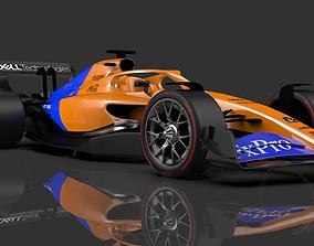 F1 2021 car 3D model