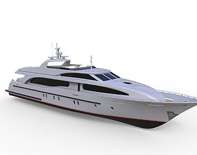 3D model Concept Motor Yacht Enigma