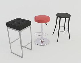 3D model Tavern Bar Stools