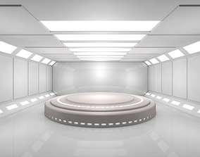 Sci Fi Room 3D asset realtime fi