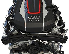 Audi Engine 3D