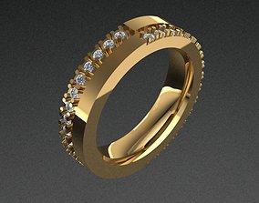 Engagement Diamond Ring ring 3dmodel 3D print model