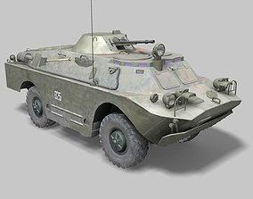 3D BRDM vehicle