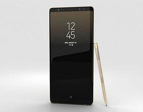 3D model samsung Samsung Galaxy Note 8 Maple Gold