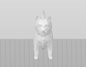 Low Poly West Highland Terrier V2 - Westie 3D print model