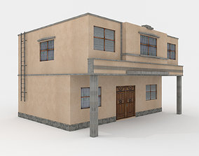 Residential Building - Town House 3D model