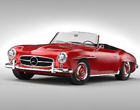 3D model Mercedes Benz 190 SL 1955 -1963