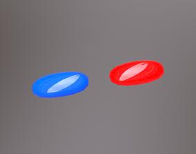 3D asset Two Pills