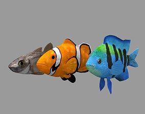 FishRig All 3D model animated