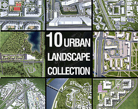 3D model Urban Landscape Collection