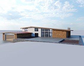 Lonely Cottage Loft 3D model