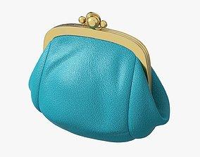 Female coin purse 3D model