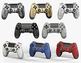 3D model Sony PlayStation 4 Controller New Colors