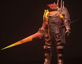 3D model Mechanical Knight