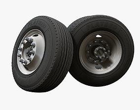 Truck steel wheels 3D
