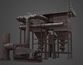 3D model Factory Element - Silo