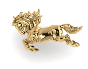 horse jewelry 3D print model