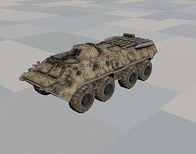 3D asset BTR 80