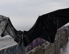 Nightmare Wing Bat Demon Creature 3D model