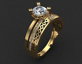 style ring 3D print model