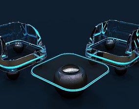 3D model Contemporary sofa