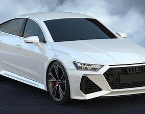 3D model 2020 Audi RS7 Sportback