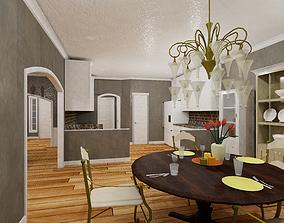 HQ Residential Modular House 3D model
