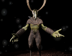 Demon 3D asset