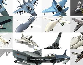 3D model Military Planes