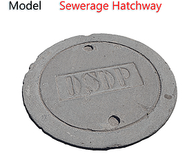 3D Sewerage hatchway