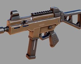 3D asset Ump45 Stylized