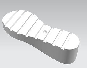 3D printable model ALFA - women sole