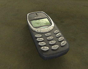 Worn Out Nokia Phone 3D model