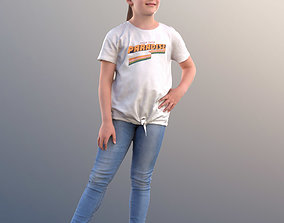 3D 10263 Matthilda - Girl Standing With Hand On Hips