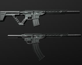 3D model RIA VR80 Semi Auto Tactical Shotgun