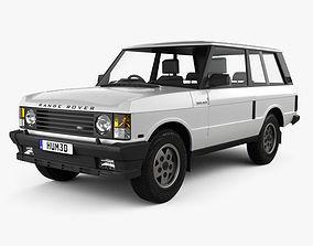 3D model Land Rover Range Rover 3-door 1986