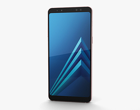 Samsung Galaxy A8 2018 Blue 3D model