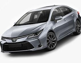 Toyota Corolla Sedan EU 2019 3D
